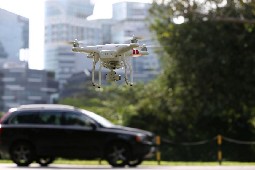 Under the drone estate initiative, approved operators and research users can carry out their trials and operations at one-north without compromising safety and security.