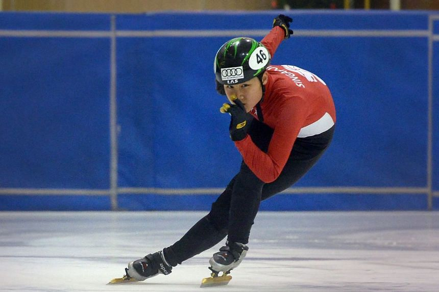 Short track speed skater Cheyenne Goh is the first Singaporean to qualify for the Winter Olympics.