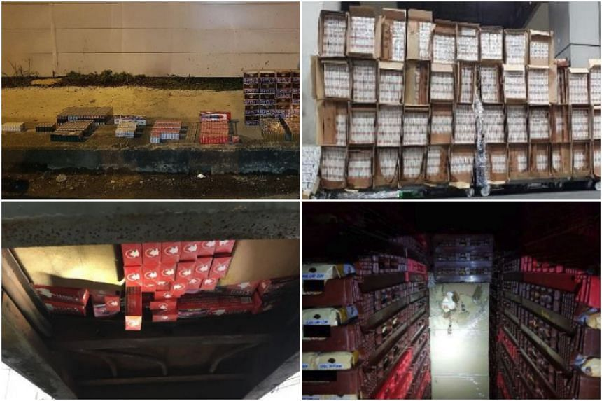 There was a rise in the number of contraband smuggling cases, with 90, 327 in 2017, up 2.6 per cent from the previous year.