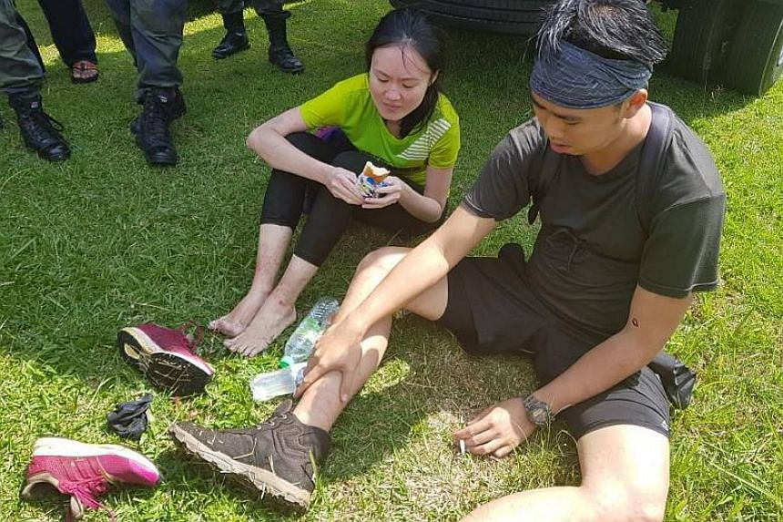 The couple are safe and unhurt, according to an update by the Johor police on Feb 8, 2018.