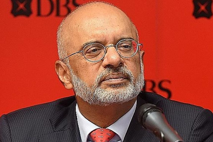 "DBS chief executive Piyush Gupta said the bank will continue to lend to projects that burn ""higher quality"" coal."