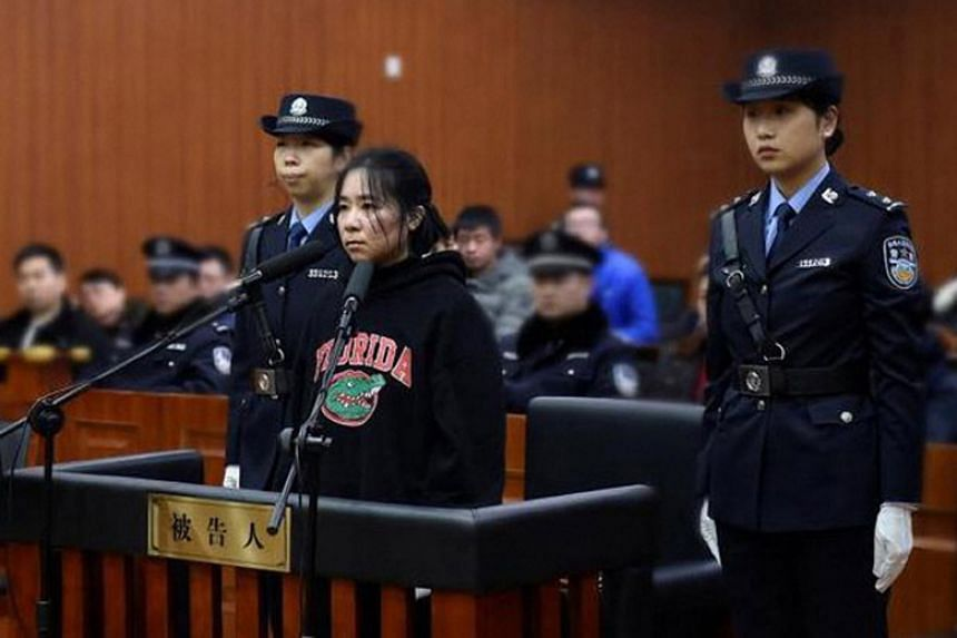 Mo Huanjing, a nanny for a family of five, has been sentenced to death for setting a fire that killed her employer's wife and children.