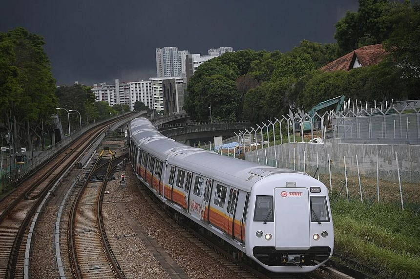 """The Land Transport Authority said the upgrading work, which is expected to be completed by """"the early 2020s"""", will reduce the number of power-related faults, as well as allow for faster recovery after signalling system failures."""
