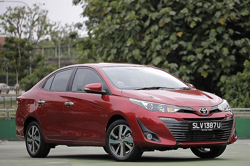Vios For Value Motoring News Top Stories The Straits Times