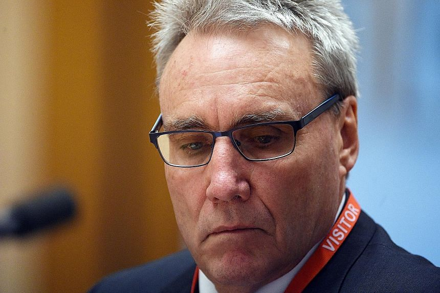 Senior tax official Michael Cranston was among various high-profile figures in Australia to be caught up in graft scandals last year. He was charged as part of an alleged tax fraud syndicate run by his son.