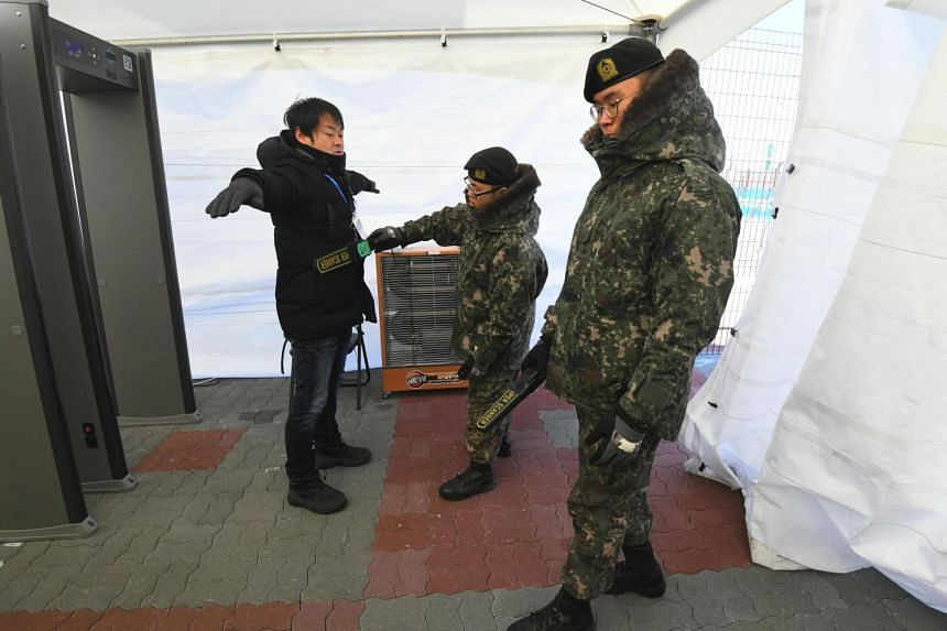 The virus had broken out in the lead-up to Friday's opening ceremony in Pyeongchang and led to some 1,200 security staff being quarantined.