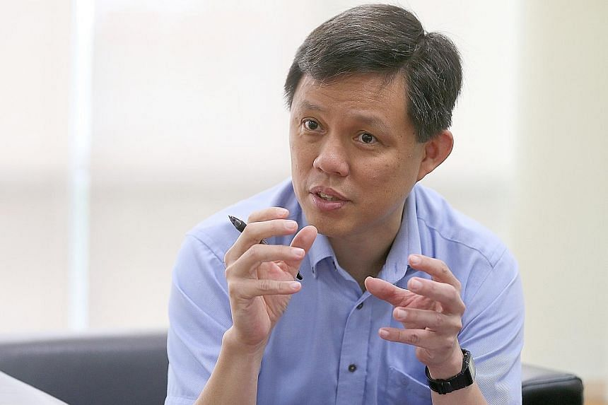 Minister in the Prime Minister's Office Chan Chun Sing says Singapore must redesign jobs to accommodate older workers as the population ages, so that those who want to work can find gainful employment.