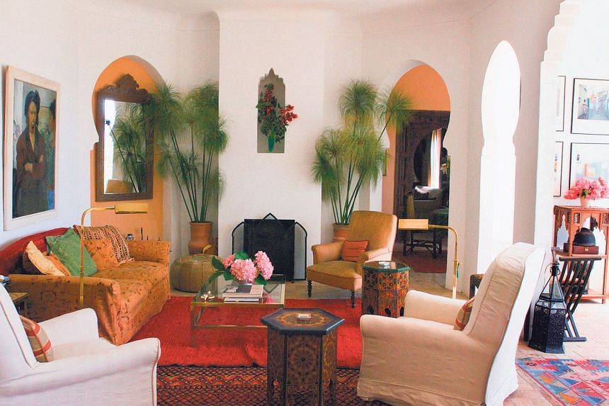 Sit back and relax in this villa in Morocco.