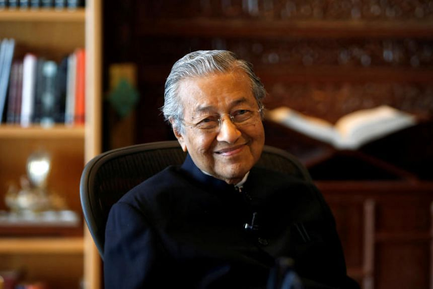 Dr Mahathir Mohamad was admitted to the National Heart Institute, and was treated in the general ward following a bad bout of cough.