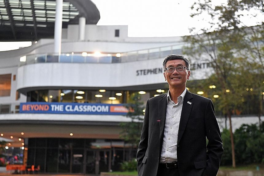 The National University of Singapore is considering expanding the proportion of adult learners to more than half of its modules, said its president Tan Eng Chye, who officially took on the top position last month. The university is now experimenting