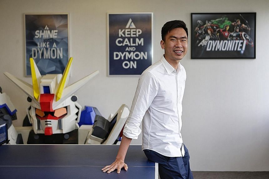 University dropout Isaac Mung is among the unconventional hires at Dymon Asia Capital. He was approached by the firm after a Straits Times article highlighting his determination to improve his family's financial situation, and is one of Dymon's best