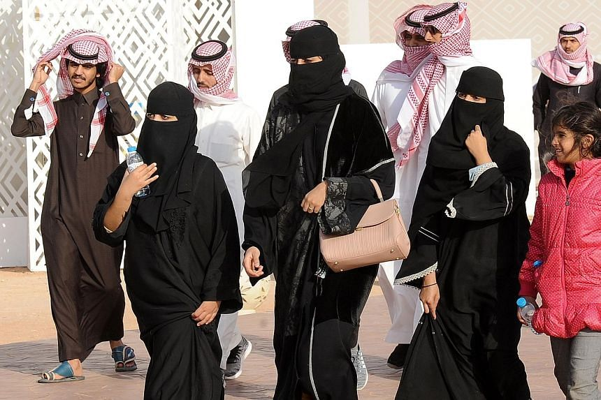 Mr Sheikh Abdullah al-Mutlaq, a member of the Council of Senior Scholars, said Muslim women should dress modestly, but this did not necessitate wearing the abaya.