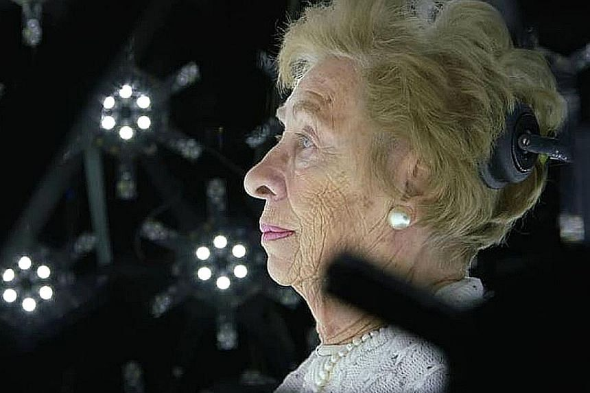 Anne Frank's stepsister Eva Schloss, a concentration camp survivor who is on an American speaking tour, says it is important to speak out when seeing injustice being done.