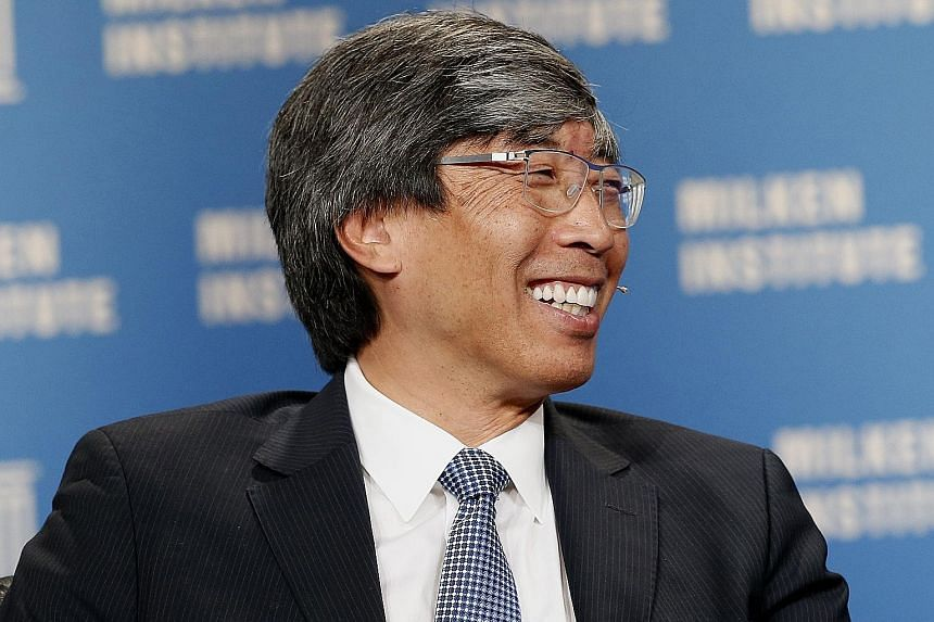 The Los Angeles Times building in Los Angeles. The 136-year-old newspaper under Mr Soon-Shiong will no longer be part of a public company, allowing the publication to avoid financial scrutiny as it tries to combat industrywide financial challenges. M