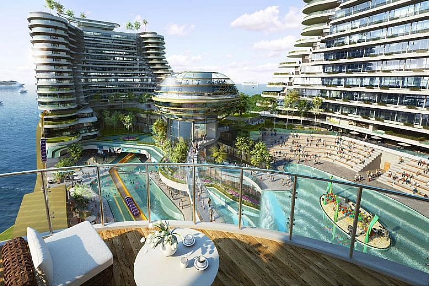 Harbour City (above), a mixed development that features retail and hospitality establishments and a theme park off the coast of Malacca. Looking ahead, the group intends to explore opportunities beyond Malacca, and is looking to grow its business in