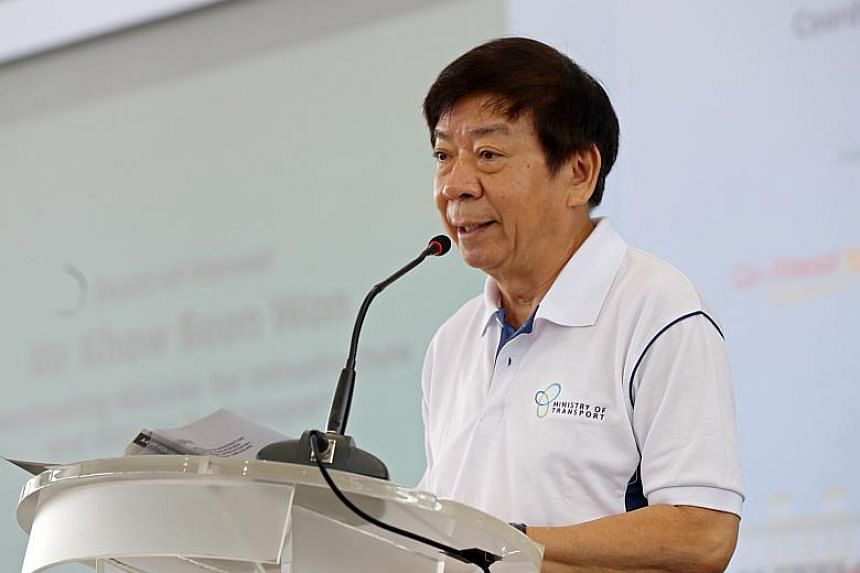 Transport Minister Khaw Boon Wan said the Land Transport Innovation Fund will include collaborative projects between LTA and local industry partners such as ST Kinetics.