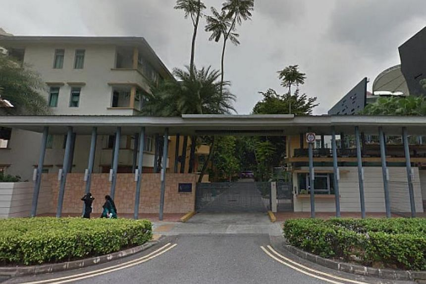 The three blocks of four-storey apartments along Prinsep Street are former Singapore Improvement Trust blocks and previously housed about 260 SMU students, 90 per cent of whom are foreigners.