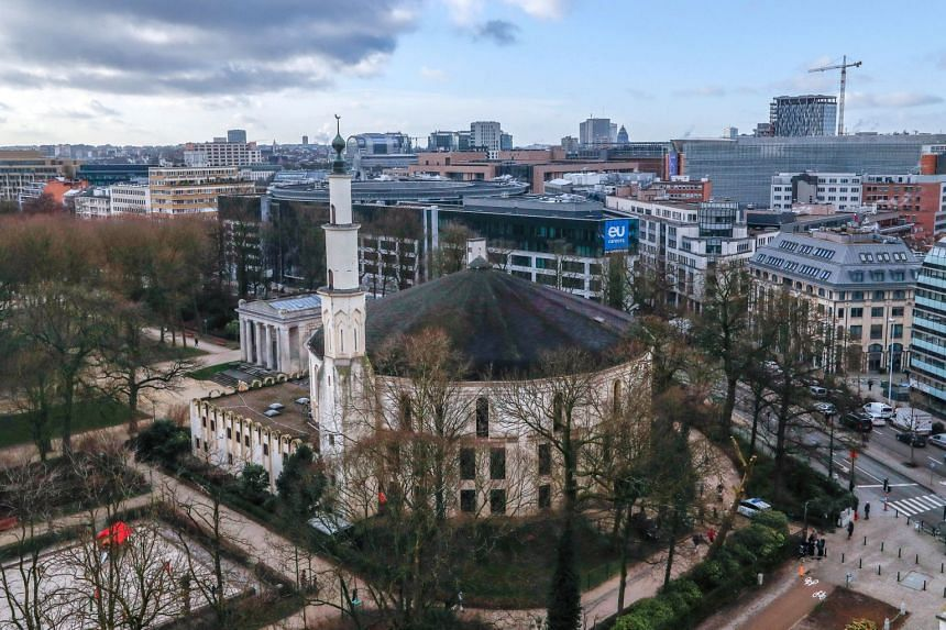 Saudi Arabia's willingness to give up control of the Grand Mosque (pictured) in Brussels shows a new readiness by the Middle Eastern kingdom to promote a more moderate form of Islam.