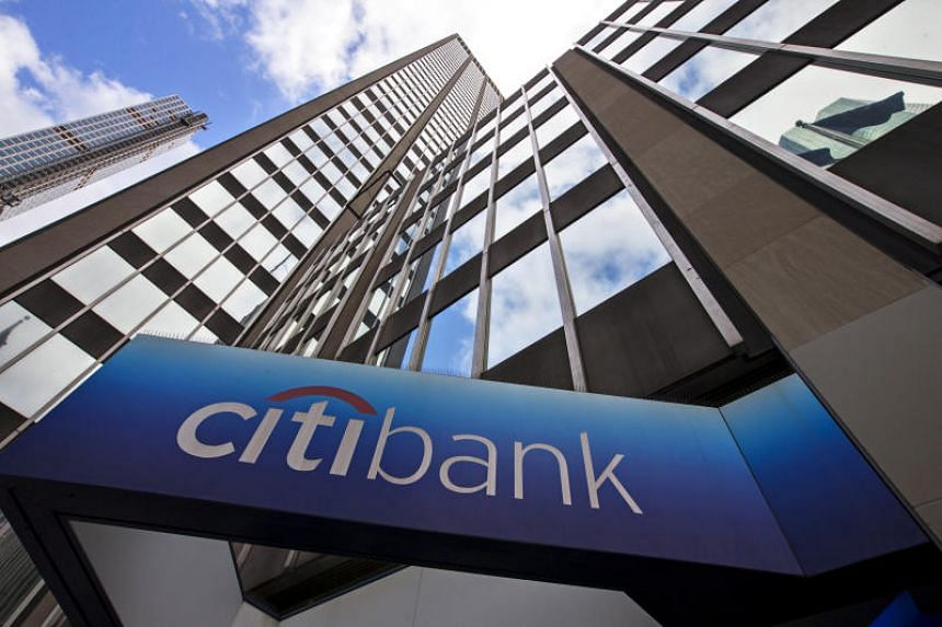 A view of the exterior of the Citibank corporate headquarters in New York, US on May 20, 2015.