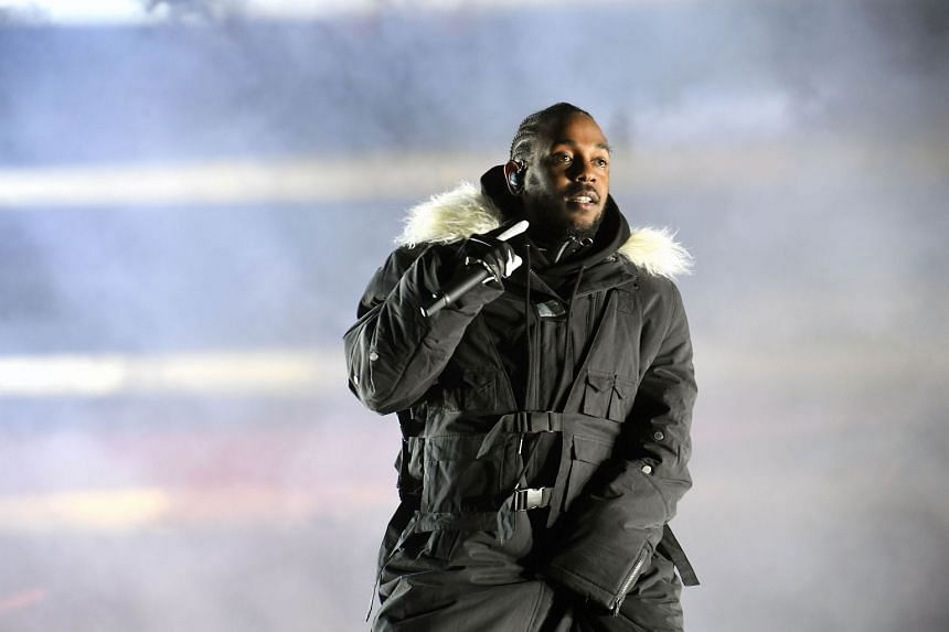 Artist Lina Iris Viktor said her work was used without permission in the music video for All the Stars by Kendrick Lamar (pictured).