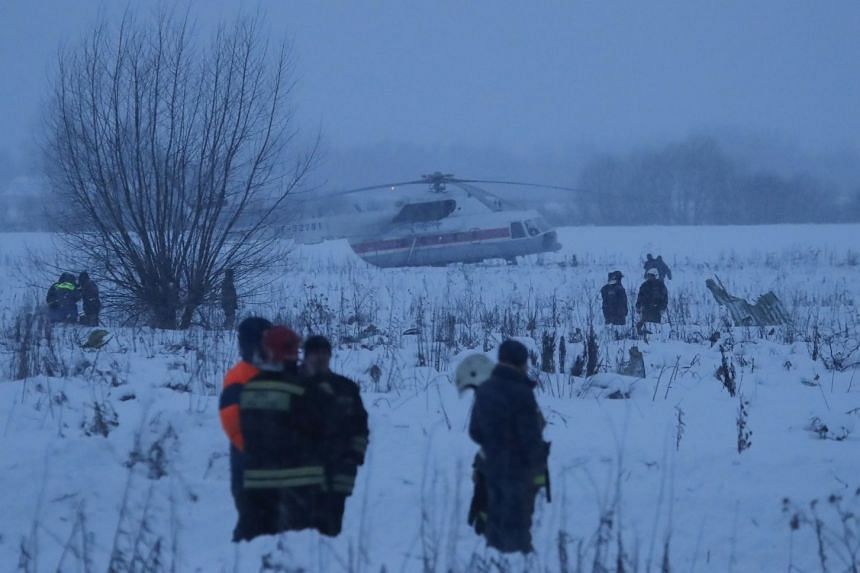 Russian passenger plane crashes near Moscow, killing all 71 on board