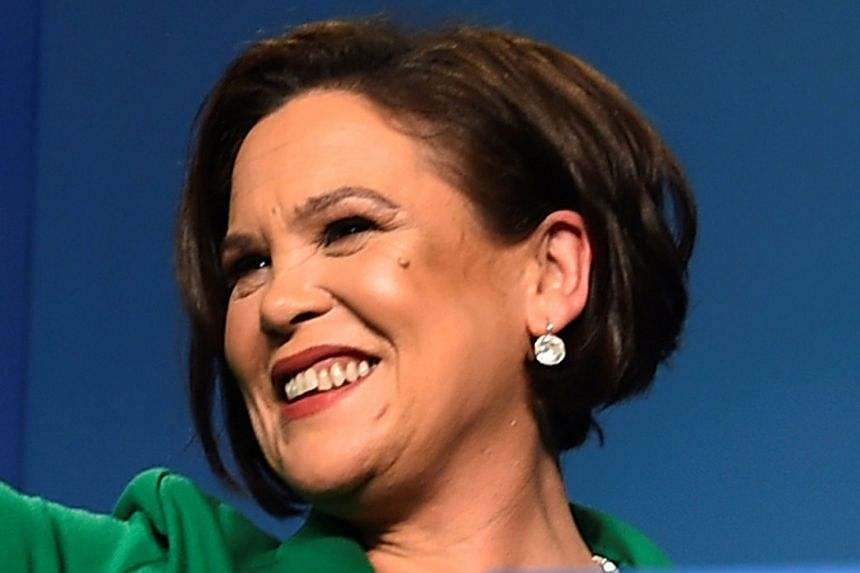 """Ms Mary Lou McDonald says """"there is no value in re-fighting the battles of the past""""."""