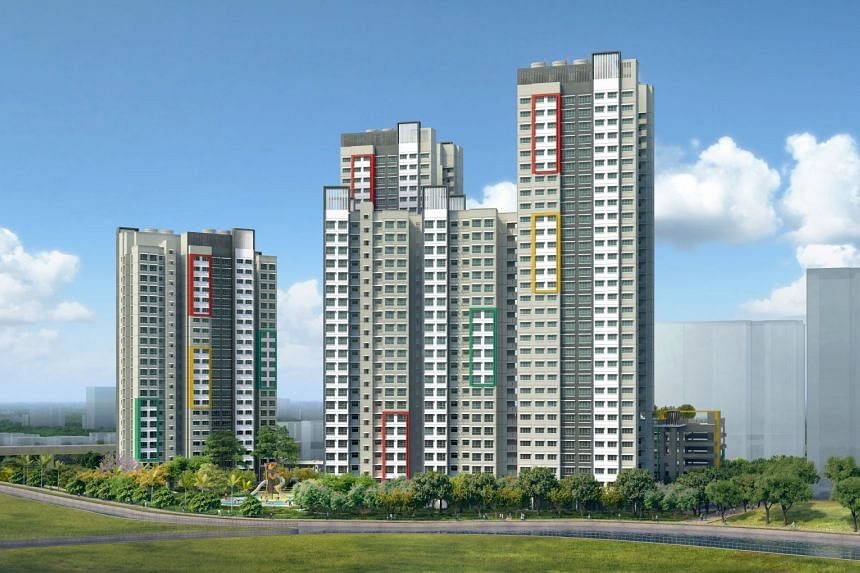 Teck Whye View in Choa Chu Kang is the most popular draw in February's Build-To-Order launch, with a subscription rate of more than nine applicants vying for a four-room unit as of 5pm on Feb 12.