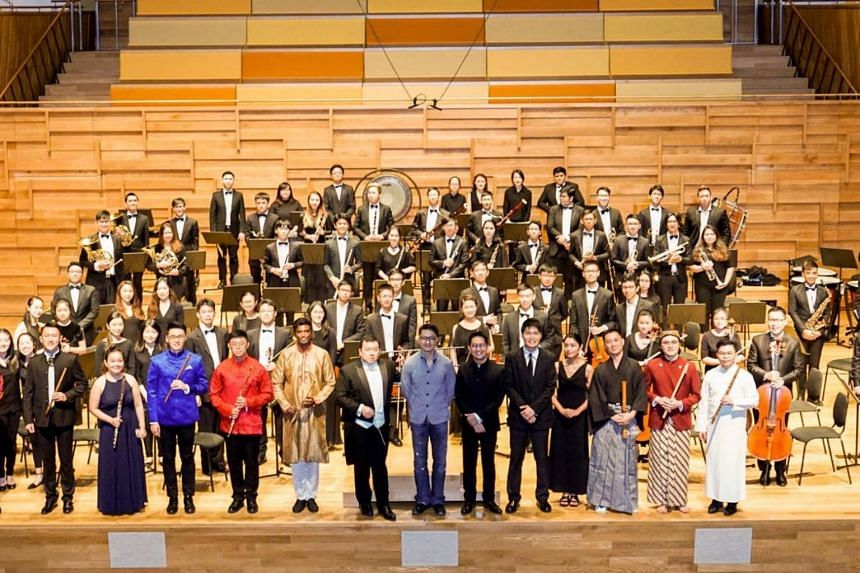 The Asian Cultural Symphony Orchestra, formed in 2016, comprises largely of instruments found in any Western symphony orchestra.