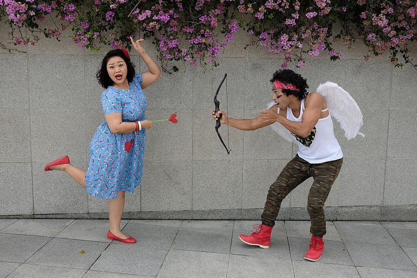 Actors Siti Khalijah Zainal and Dwayne Lau are part of the cast for A Date With Dwayne - Let's Go Steady.