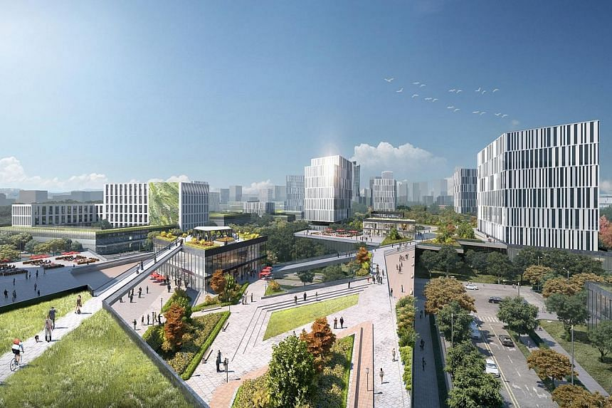 The 9,450ha New Clark City in the Philippines is envisioned to be a new metropolis that will be bigger than Manhattan when completed in 30 to 40 years' time, with a population of about two million. It is expected to contribute about 1.57 trillion pes