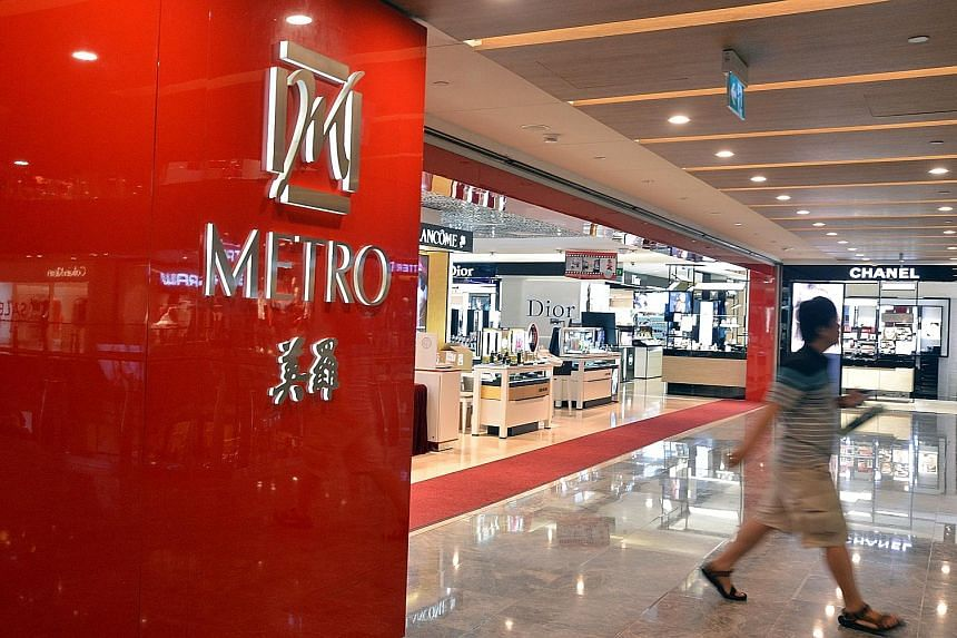 Improvements in turnover from the property and retail segments lifted Metro's revenue to $39.3 million, up 5.4 per cent from a year earlier.