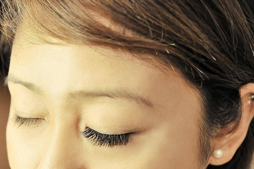 The glue that is used to bond the extensions to natural eyelashes often has formaldehyde or other chemicals that can irritate the eye.