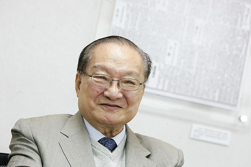 Hong Kong journalist and newspaper editor Louis Cha, 94, who goes by the pen name Jin Yong, is considered the grandfather of Chinese martial arts fiction.