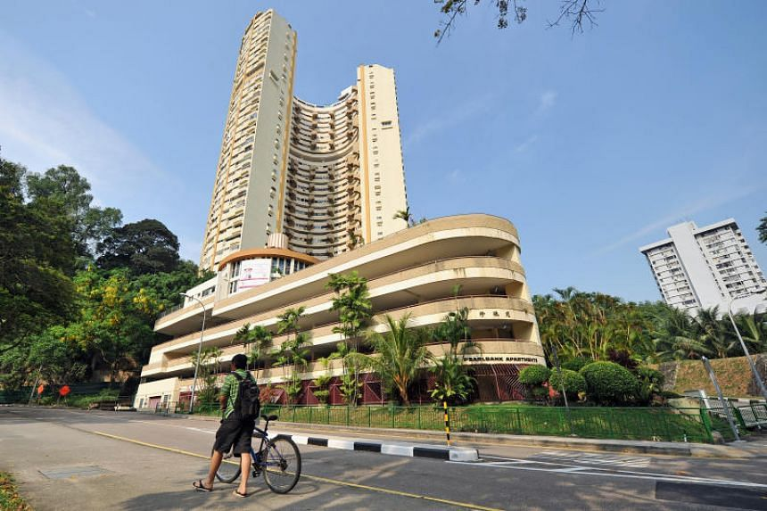 """CapitaLand plans to redevelop the site of the iconic Pearl Bank Apartments into a highrise residential development comprising around 800 units with """"social, shared facilities""""."""