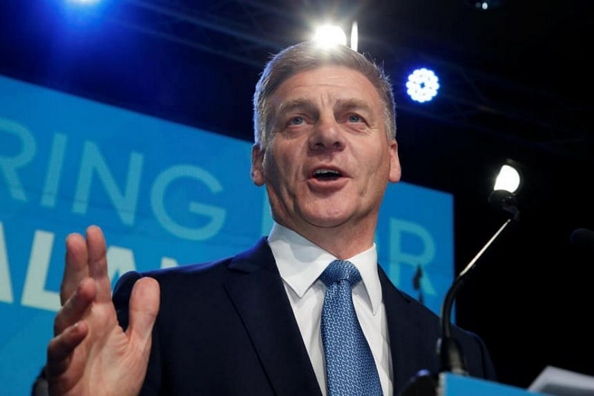 Bill English decided during his summer vacation that he wanted a break from politics.