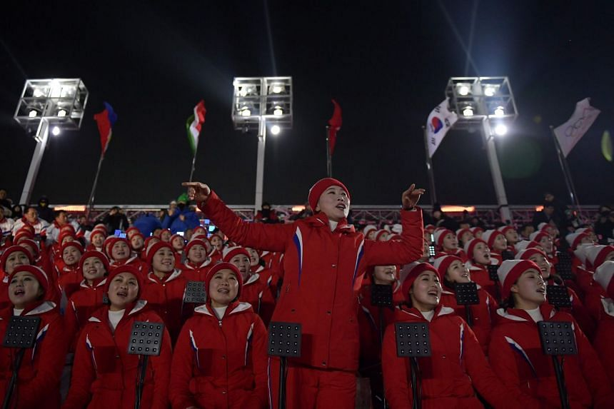 North Korea's Olympic cheerleaders have drawn much attention since arriving for the Pyeongchang Winter Olympics last week.