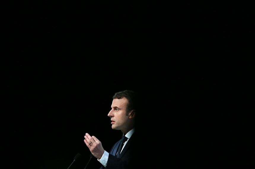 "French President Emmanuel Macron said his aim was to give young men and women alike ""causes to defend and battles to fight in the social, environmental and cultural domains""."