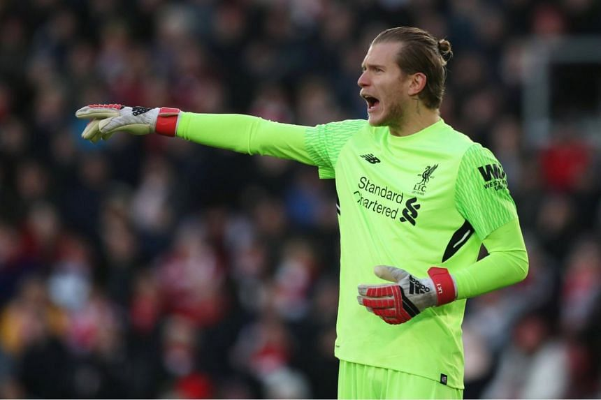 Loris Karius, 24, arguably delivered his best display for Liverpool in the 2-0 win at Southampton on Feb 11, making two excellent saves in the first half and generally looking assured.