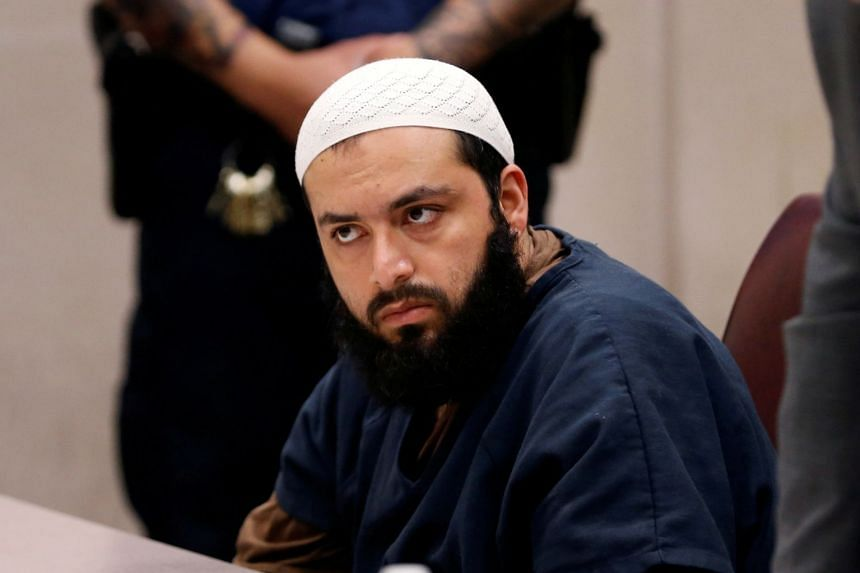 Rahimi appears in court for a hearing in May 2017.