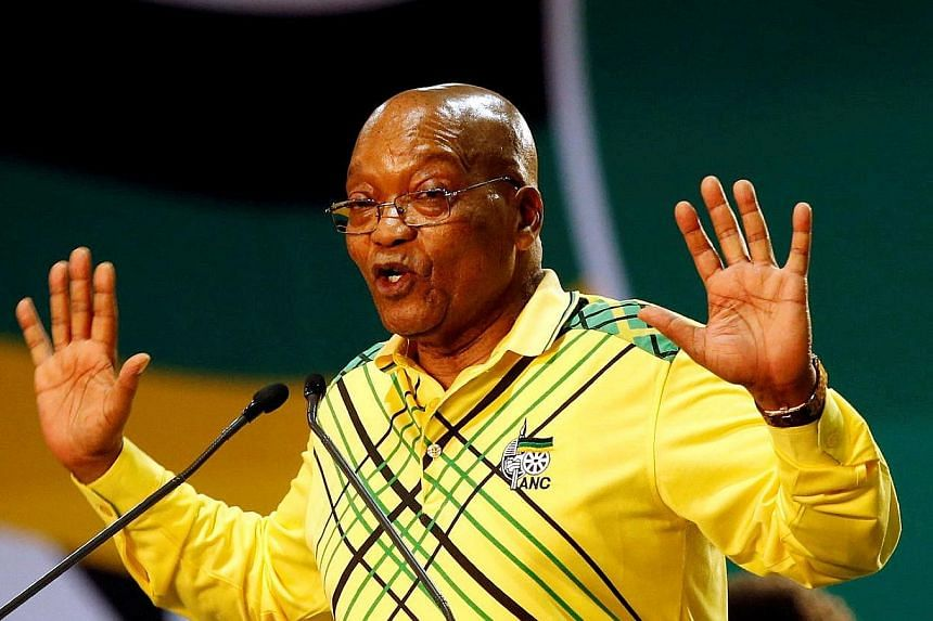 South Africa's ruling ANC has ordered Mr Jacob Zuma to step down as the country's president after marathon talks.