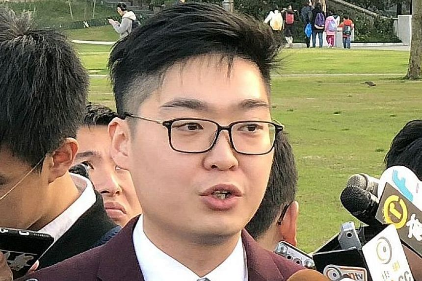 Mr Andy Chan had signed a declaration that he would uphold the city's Basic Law but the judge did not believe him.