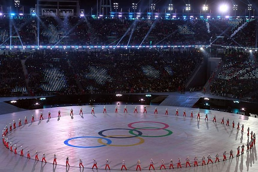 The Ministry of Unification said the funds will pay for the costs including accommodations and food for North Korea's cheering squad, orchestra, taekwondo performers, journalists and other supporting personnel who had visited or are still in South Ko