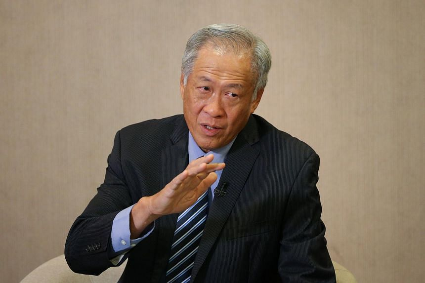 Defence Minister Ng Eng Hen said Singaporeans must play their part in keeping the nation safe to stop history from repeating itself.