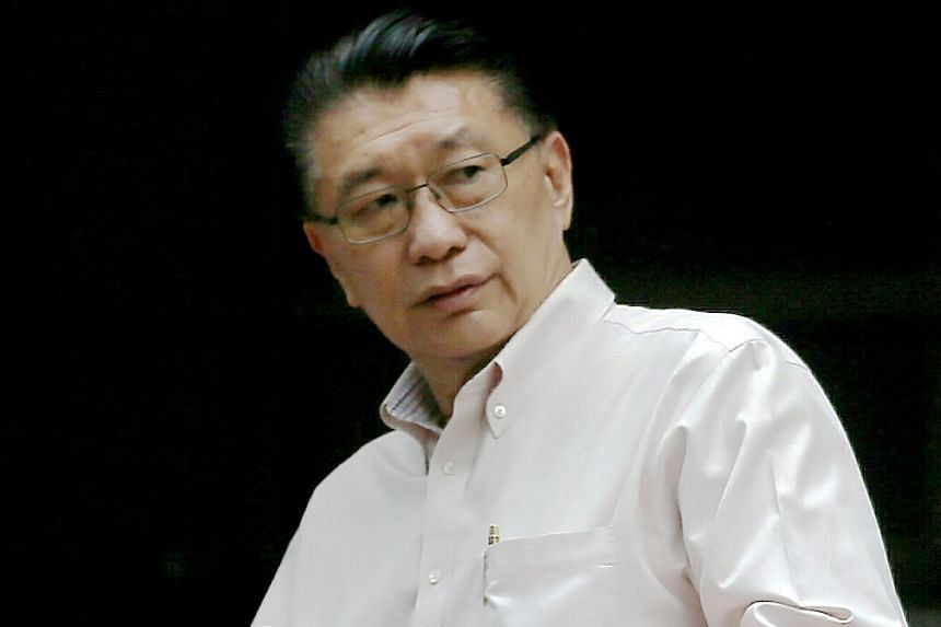 Khoo Boo Law (pictured), who got into the scuffle with taxi driver Lim San Nee, pleaded guilty to disturbing the peace by fighting in a public place and was fined $3,000.