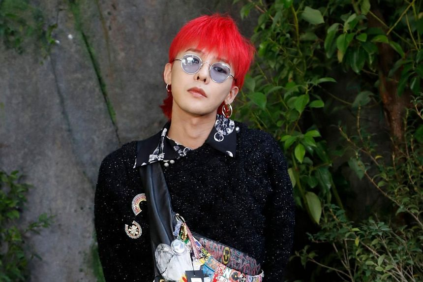 boyband on break big bang s g dragon off to the army entertainment