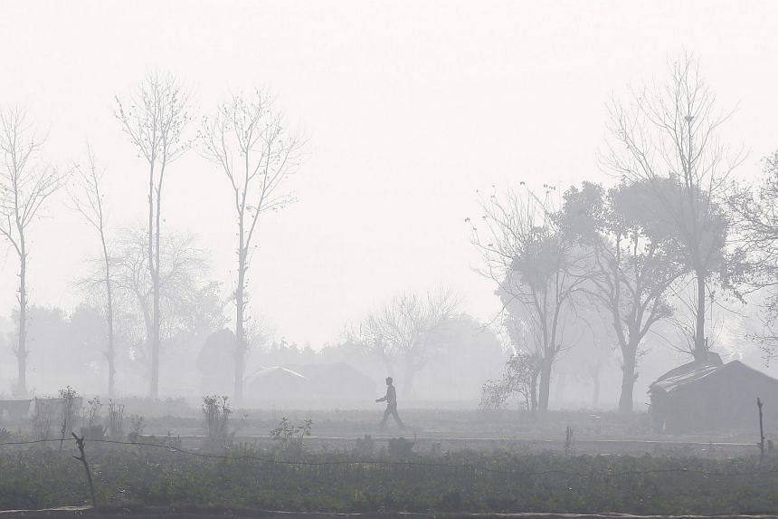 The particles from crop stubble burning combine with industrial pollution, vehicle exhaust and dust to cover the region every year as winter approaches and wind speeds drop.