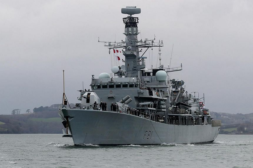 Britain's HMS Sutherland, an anti-submarine frigate, will sail through the South China Sea on its way home from Australia to assert freedom of navigation rights.