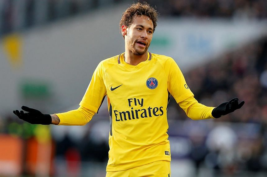 Footballer Neymar became the world's most expensive player when PSG swiped him from Barcelona for €222 million (S$362.2 million) in August.