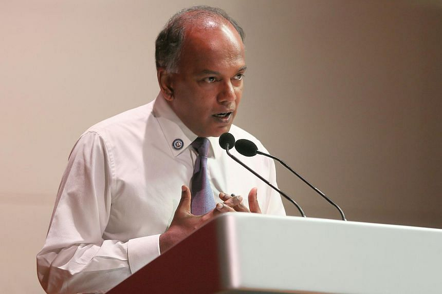 Law and Home Affairs Minister K. Shanmugam gave context to his remarks during a closed-door dialogue with more than 200 pastors and church leaders on Feb 9.