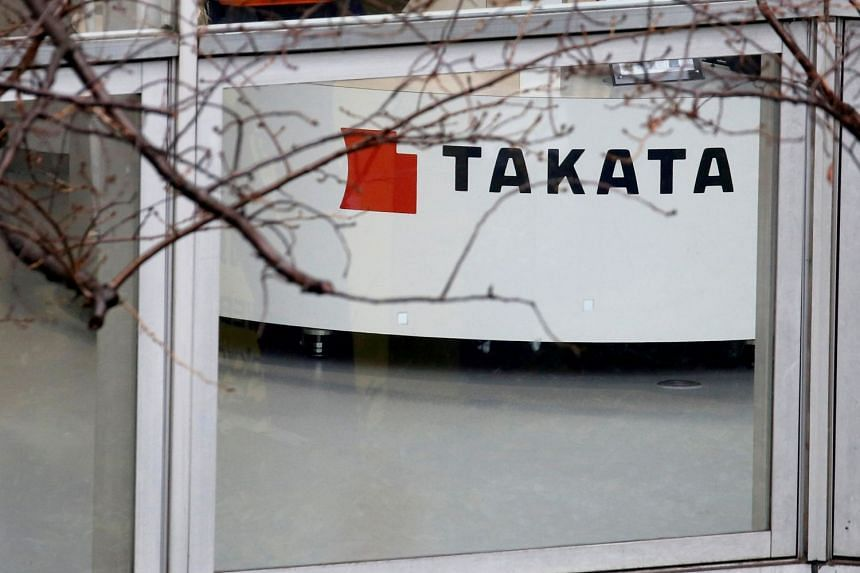 Takata and its US unit, TK Holdings, filed for bankruptcy last year in the wake of the world's largest automotive safety recall.